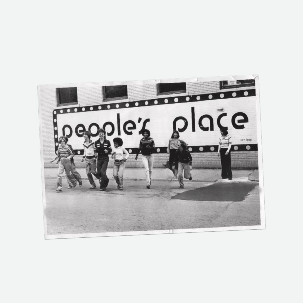 People's Place. Photographed by Peoples Place partner and co-founder Larry Stemerman, circa 1970