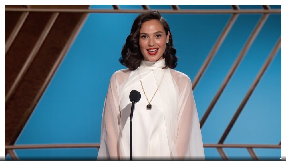 78th ANNUAL GOLDEN GLOBE AWARDS -- Pictured in this screen grab: Gal Gadot at the 78th Annual Golden Globe Awards on February 28, 2021. -- (Photo by: NBC)
