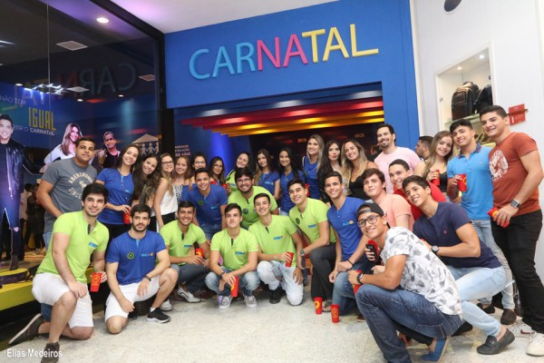 Foto: Elias Medeiros - Abertura da Central do Carnatal no Natal Shopping