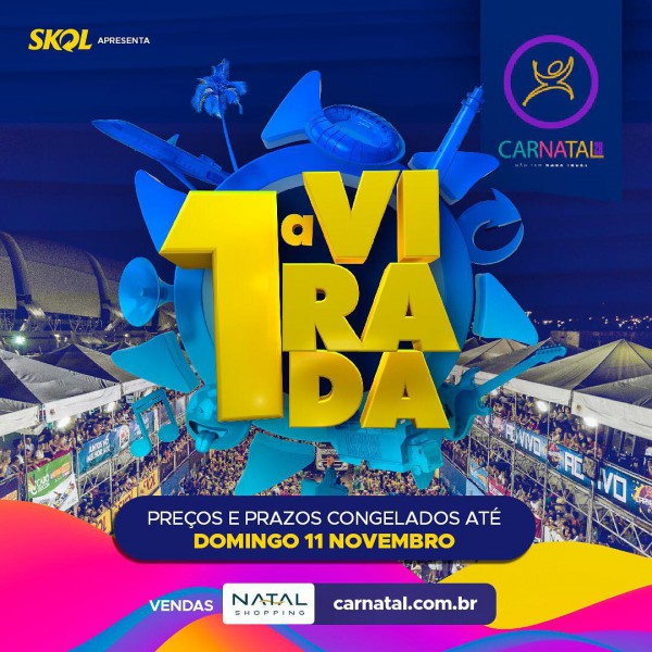 Domingo tem 1ª festa de virada de lote na Central do Carnatal