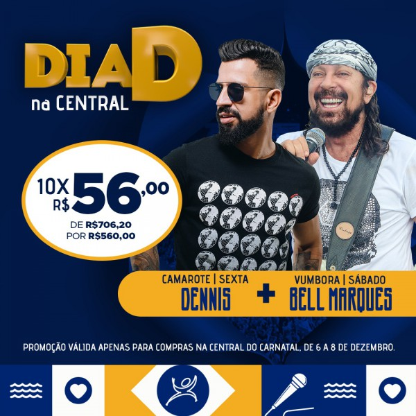 Domingo é dia D na Central do Carnatal 7