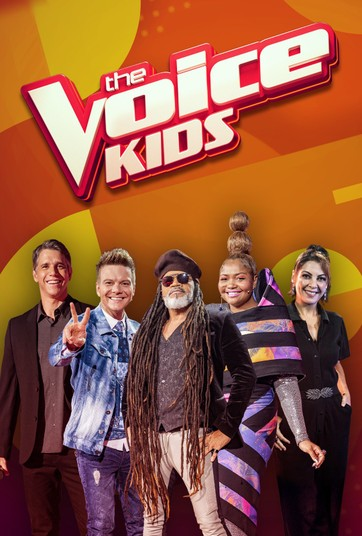 Equipe competente do The Voice Kids Brasil
